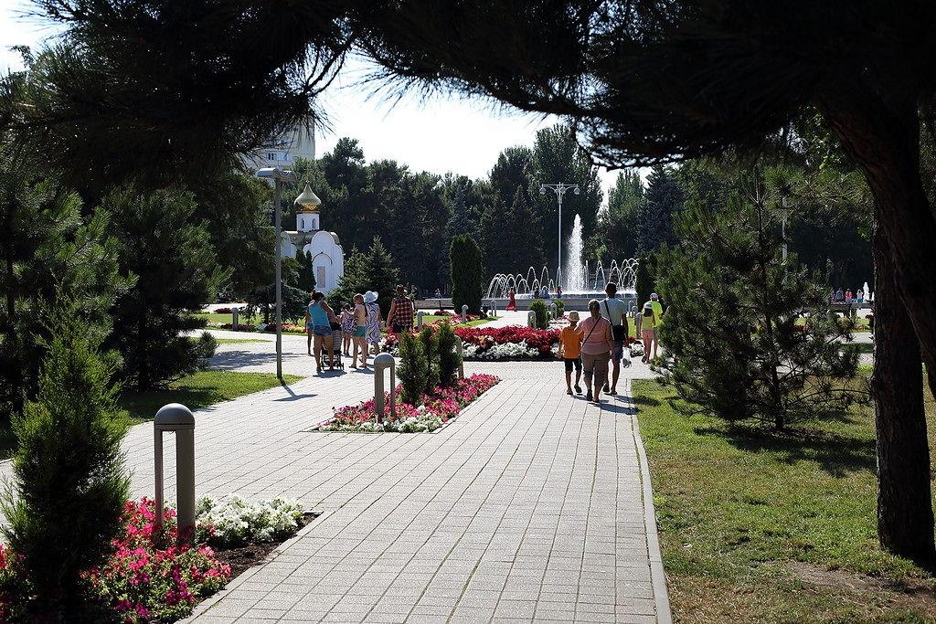 Анапа. фонтан