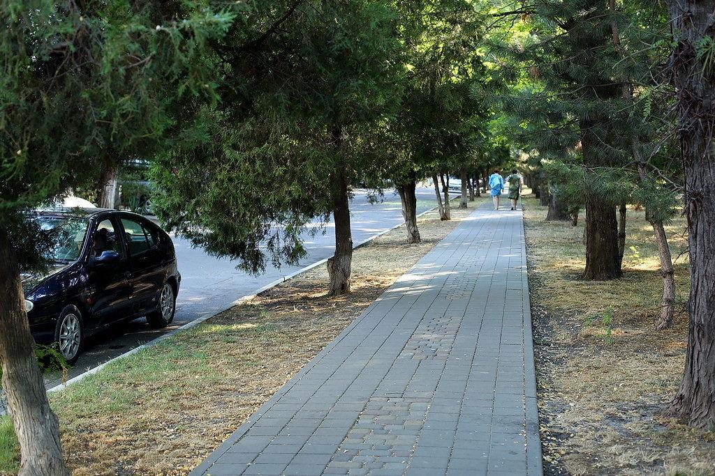 Анапа. парк городской