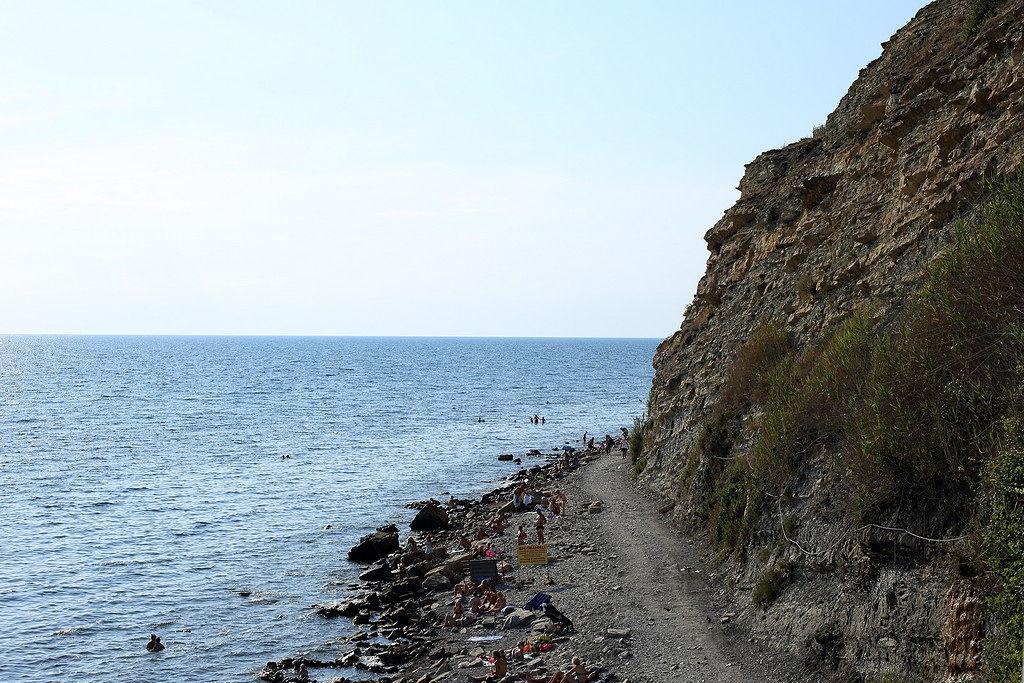 Анапа. пляж