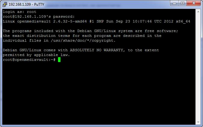 Обновление OpenMediaVault до версии 0 4 5 (Fedaykin) | бЛог