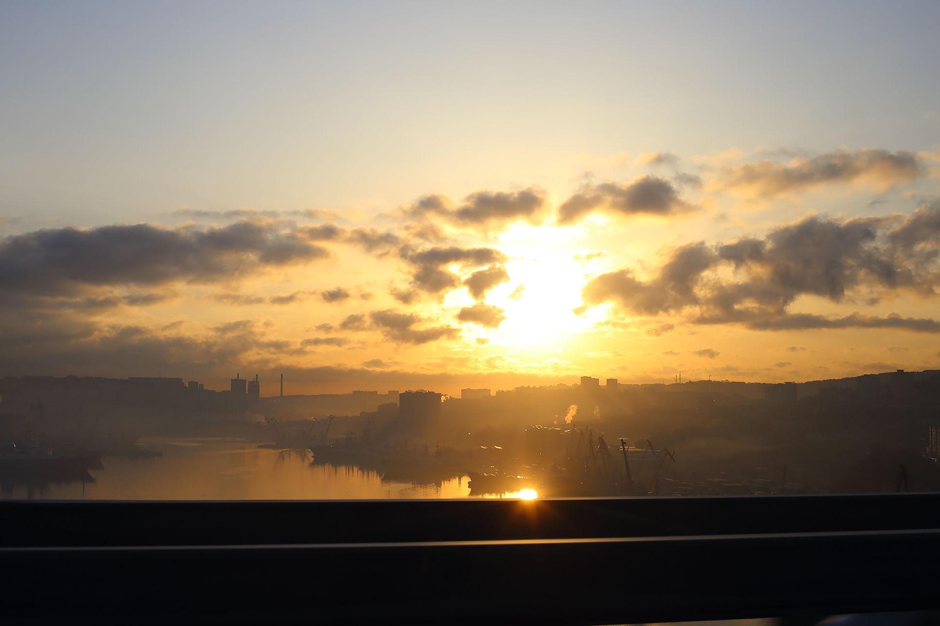 Владивосток, закат
