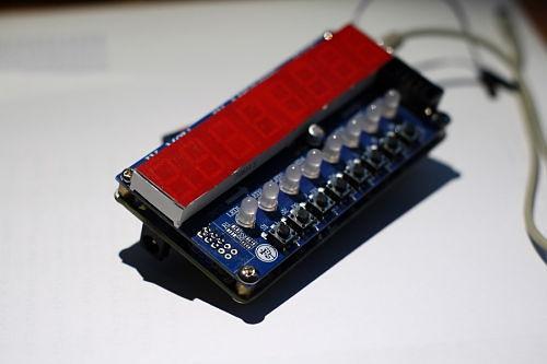 Часы на микроконтроллере msp430